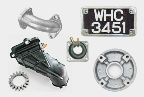 motorcycle accessories & components