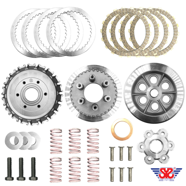 SYS WAVE110/ DASH (6 SPRINGS) RACING CLUTCH SET