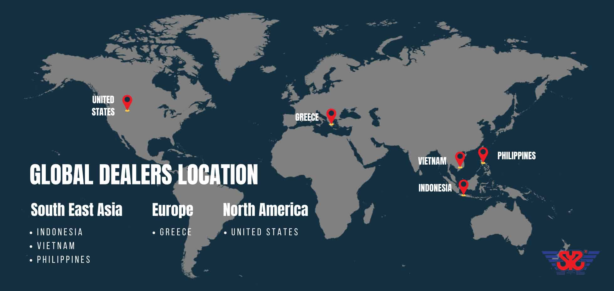 global dealers location of sys