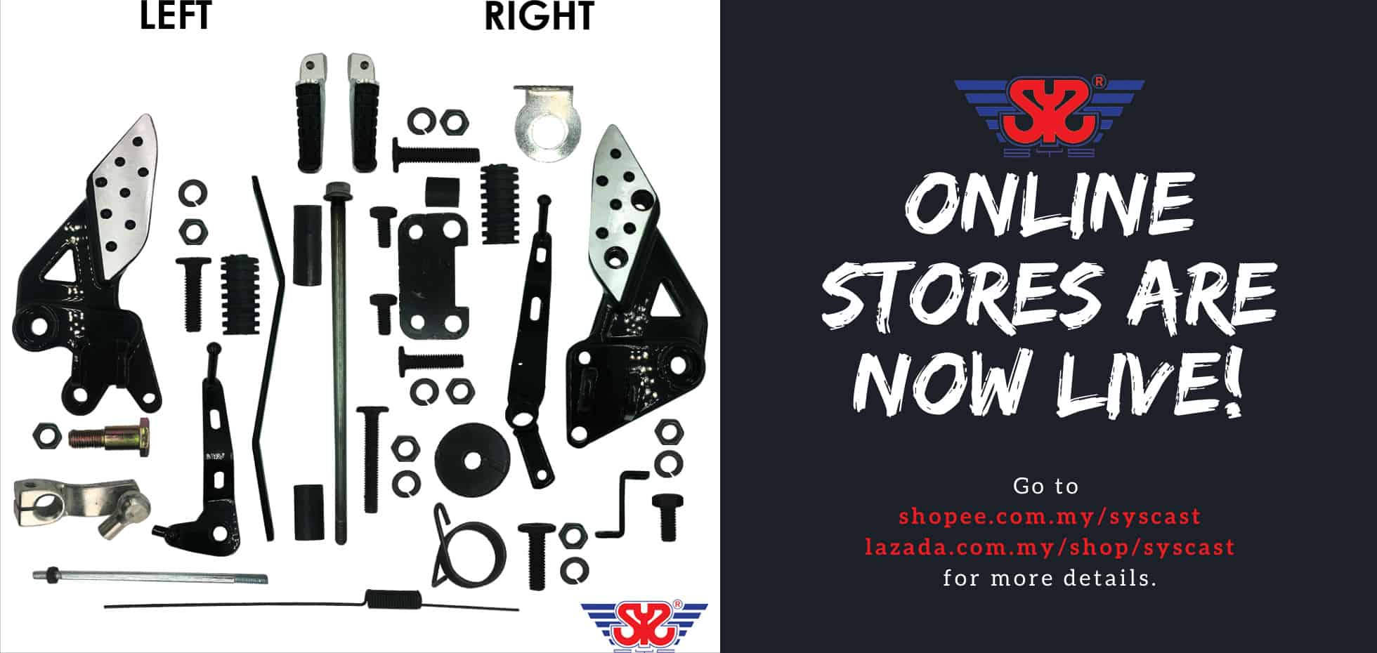 sys online store are now live